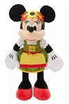 Disney World Showcase Plush - Minnie Mouse Bavarian - Germany