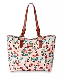 Disney Dooney & Bourke Bag - Mickey and Minnie Mouse Floral - Tote