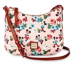 Disney Dooney & Bourke Bag - Mickey and Minnie Mouse Floral - Crossbody