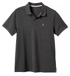 Disney Polo Shirt for Men - Mickey Mouse Pique Cotton - Charcoal