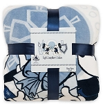Disney Fleece Throw - Mickey and Minnie Mouse Chanukah