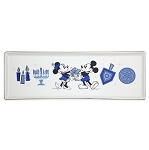 Disney Holiday Tray - Mickey and Minnie Mouse Chanukah