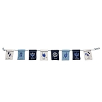 Disney Holiday Pouch Banner - Mickey and Minnie Mouse Chanukah