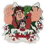 Disney Holiday Pin - Ralph and Vanellope