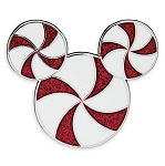 Disney Holiday Pin - Mickey Mouse Peppermint Candy