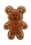 Disney Holiday Plush - Mickey Mouse Gingerbread Cookie - Scented