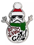 Disney Holiday Pin - Stormtrooper - Up to Snow Good