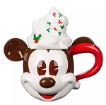 Disney Holiday Mug and Lid - Mickey Mouse Whipped Cream
