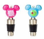 Disney Holiday Bottle Stopper - Mickey Mouse - Mid-Century Brights