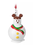 Disney Figure Ornament - Mickey Mouse Snowman Treat