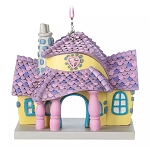 Disney Figurine Ornament - Minnie Mouse House - Toon Town