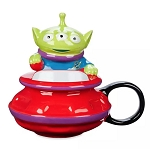 Disney Mug with Lid - Toy Story Alien UFO
