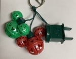 Disney Holiday Keychain - Mickey Mouse Jingle Bells Lights - Light Up