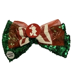 Disney Hair Bow - Holiday Minnie Mouse - Light Up