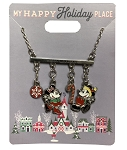 Disney Holiday Necklace - Mickey and Minnie Holiday Charms