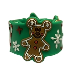 Disney Silicone Slap Bracelet - Disney Mickey Holiday Treat Icons