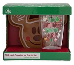 Disney Milk and Cookies Set - 2019 Holiday Mickey Gingerbread