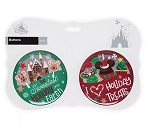 Disney Souvenir Button Set - Holiday Treats - Set of 2