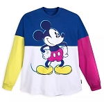 Disney Adult Spirit Jersey - Mickey Mouse - Color Blocked