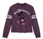 Disney Football Jersey for Women - Walt Disney World - Purple
