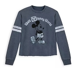Disney Football Jersey for Women - Walt Disney World - Blue