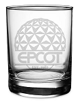 Disney Arribas Tumbler Glass - Epcot - Walt Disney World