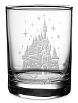 Disney Arribas Tumbler Glass - Cinderella Castle - Walt Disney World