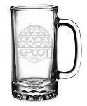 Disney Arribas Glass Mug - Epcot - Walt Disney World