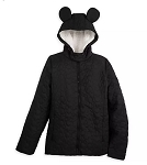 Disney Jacket for Women - Mickey Mouse Ears Quilted - Fleece Lined