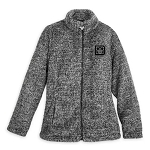 Disney Jacket for Women - Walt Disney World Plush Fleece - Gray