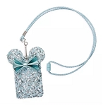 Disney Loungefly Lanyard and Pouch - Minnie Mouse - Arendelle Aqua