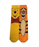 Disney Socks for Adults - Winnie the Pooh - Winnie the Pooh and Tigger