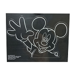 Disney Window Decal - Mickey and Minnie Wave - Set of 2