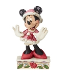 Disney Jim Shore Figure - Minnie Christmas Personality