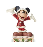 Disney Jim Shore Figure - Mickey Christmas Personality