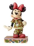 Disney Jim Shore Figure - Minnie in Christmas Pajamas