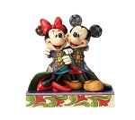 Disney Jim Shore Figure - Mickey and Minnie With Quilt