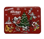 Disney Holiday Candy - Mickey and Minnie Peppermint Bark in Tin