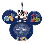 Disney Photo Frame Ornament - 2020 Dated - Walt Disney World