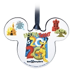 Disney Disc Ornament - 2020 Dated - Mickey Icon - Walt Disney World