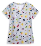 Disney Shirt for Women - 2020 Walt Disney World - Mickey & Friends Icons