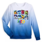Disney Sweatshirt for Women - Walt Disney World 2020 - Mickey & Friends - Ombre