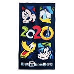 Disney Beach Towel - 2020 Walt Disney World - Mickey and Friends