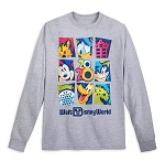 Disney Long Sleeve Shirt for Adults - 2020 Mickey & Friends - Gray