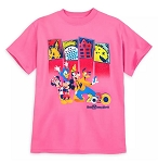 Disney Shirt for Girls - 2020 Mickey and Friends - Walt Disney World - Pink