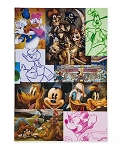 Disney Journal - Mickey Mouse and Friends Mosaic