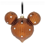 Disney Mickey Ears Icon Ornament - Mickey Mouse Icon - Belle Bronze