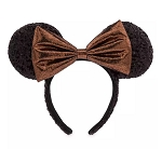 Disney Ears Headband - Minnie Mouse Sequined - Belle Bronze