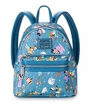 Disney Loungefly Backpack - Mickey Mouse & Friends - Disney Park Life