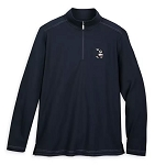 Disney Tommy Bahama Pullover for Men - Mickey Mouse Long Sleeve - Navy